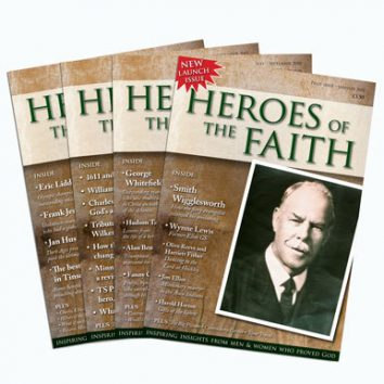 Subscribe to Heroes of the Faith Magazine