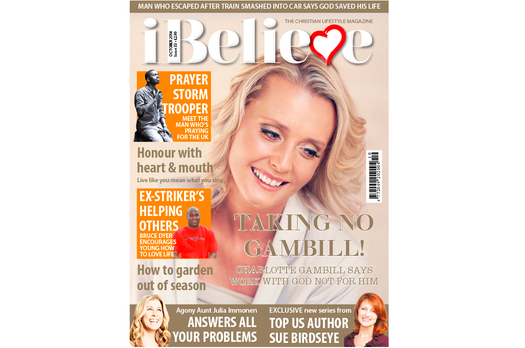 iBelieve Magazine October 2014 cover