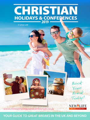 Christian holidays & Conferences 2019 cover