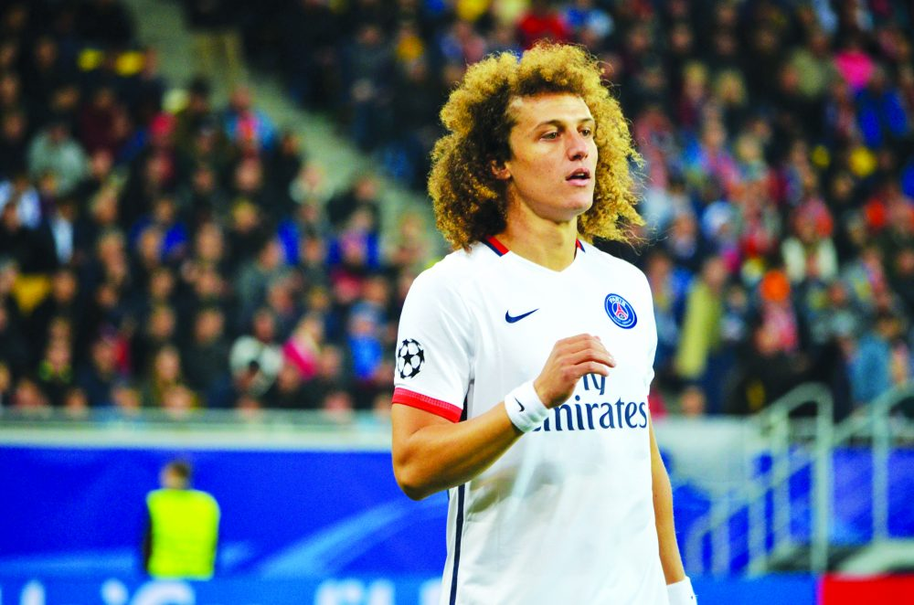 David Luiz is a devout follower of the Lord