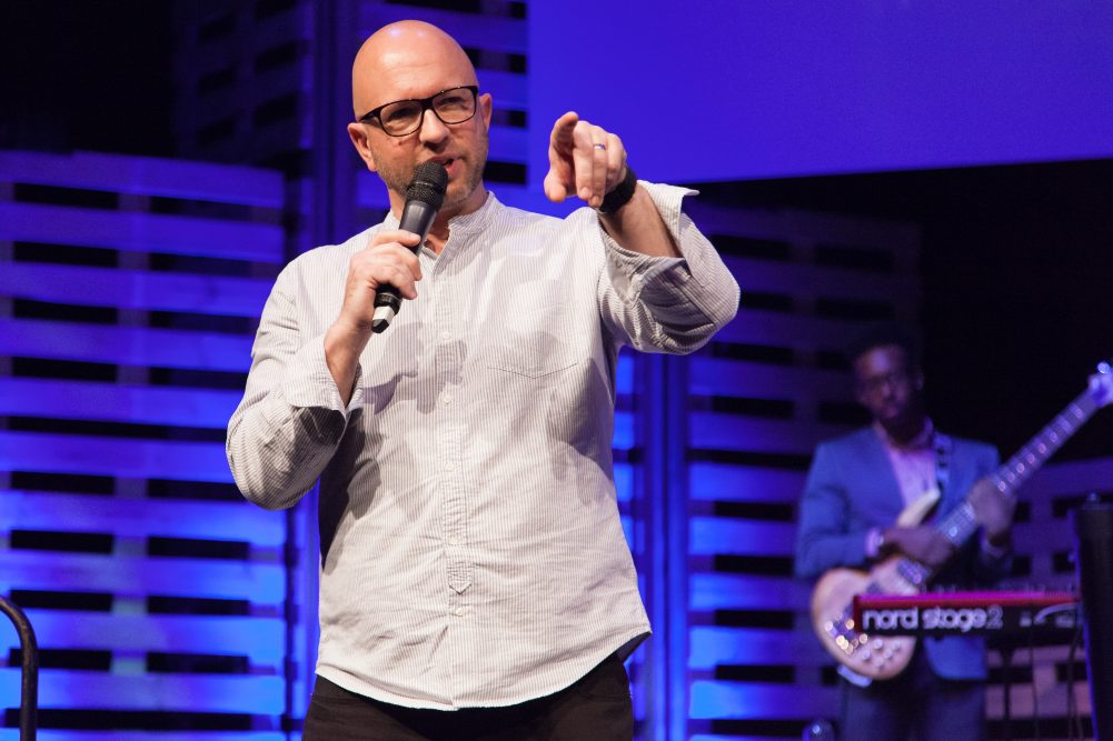 Mark Pugh is leading the way with church technology after setting up a live stream from Elim Exeter