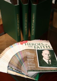 Bumper deal! Complete set of Heroes of the Faith magazine and three official binders