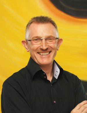 Always happy to say hello... New Life Publishing Editor-in-Chief Peter Wreford