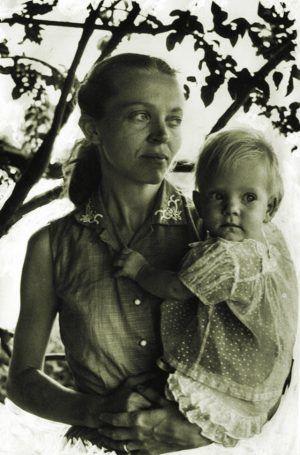 Elisabeth with Valerie
