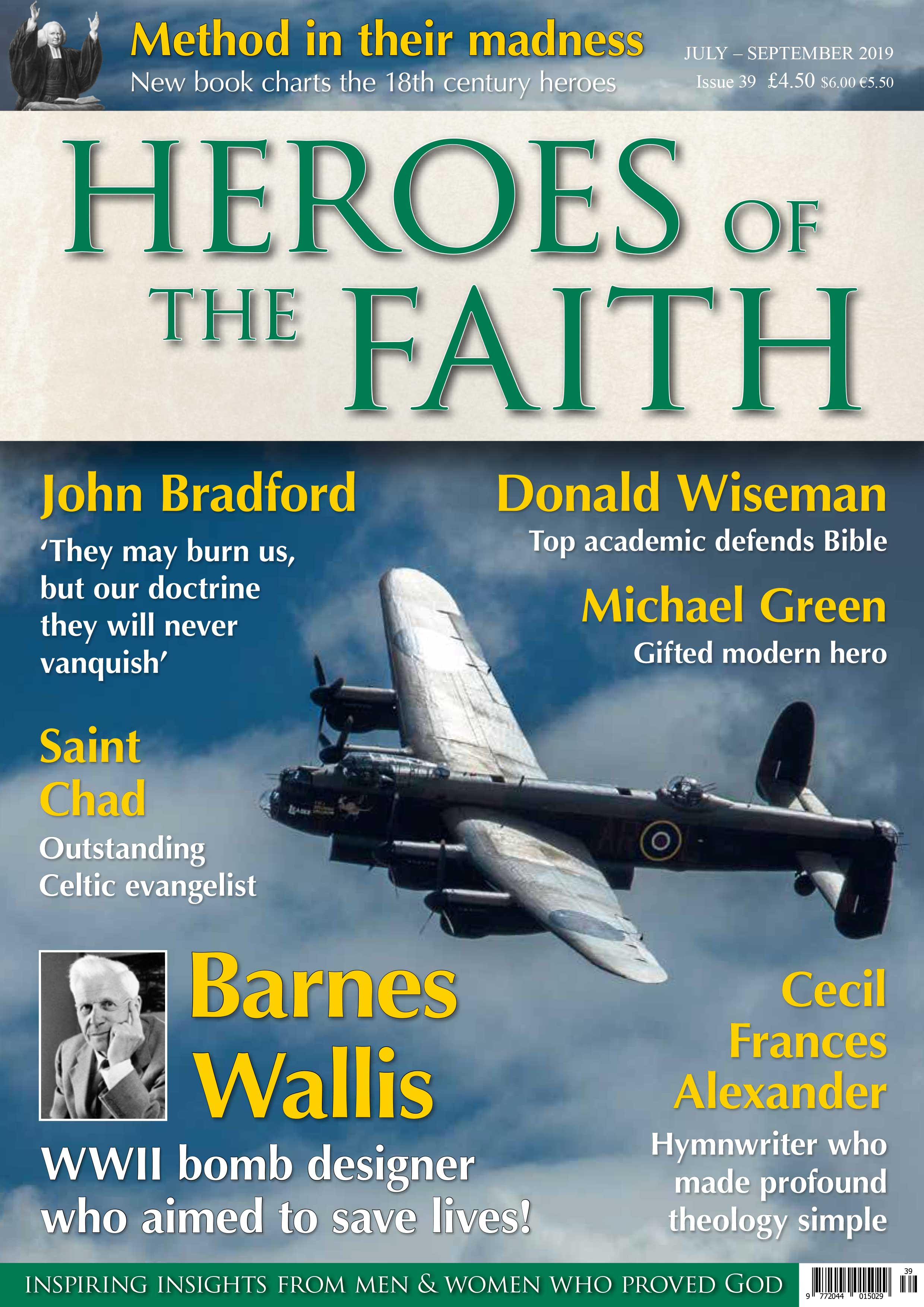Heroes Of The Faith July - September 2019