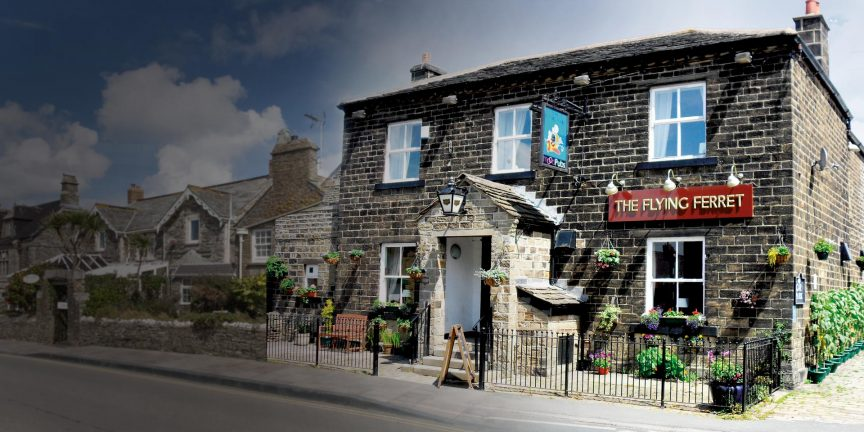 The Flying Ferret Pub in West Yorkshire