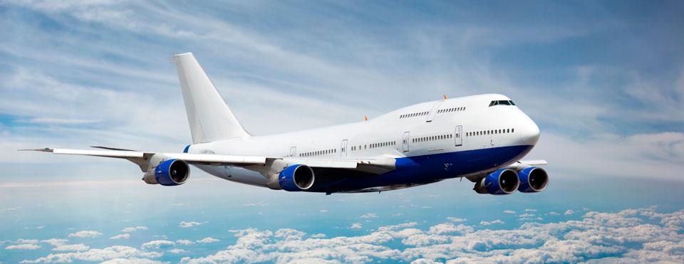 a modern jet in flight