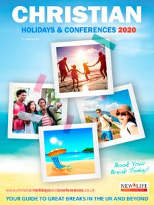 cover of the christian holidays and conferences guide 2020