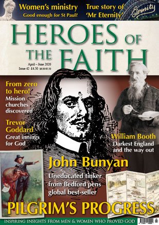Heroes of the Faith #42 April - June 2020 front cover