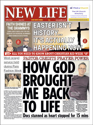 New Life Newspaper April 2020 Front Cover