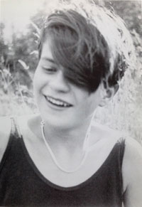 Sophie Scholl in her teenage years