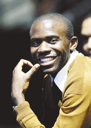 fabrice muamba smiling