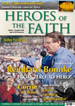 Heroes Of The Faith October - December 2020 Cover