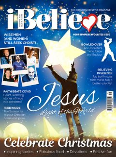 iBelieve Magazine Christmas 2020 Front Cover
