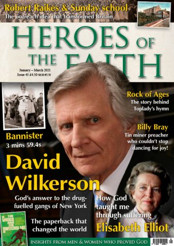Heroes of the Faith #45 January - March 2021 front cover