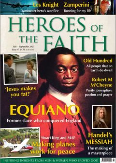Heroes of the Faith Issue #47 Front Cover
