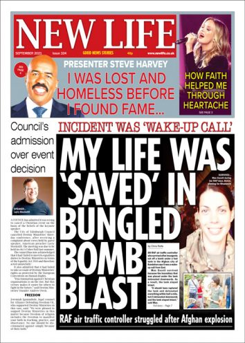 New Life Newspaper September 2021 Front Cover